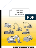 Wheel Loader Liebherr L 512-L 514 Stereo - Service Manual