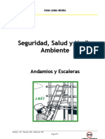 Manual de Seguridad - Andamios y Escaleras