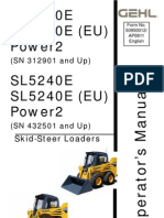 Gehl 4640e Power2 Operator's Manual