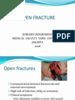 Open Fracture