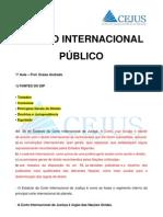 917_Aula 01 - Direito Internacional Publico