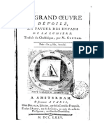 COUTAN Le Grand Oeuvre Devoile - Thierry Ducreux