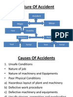 Nature of Accident