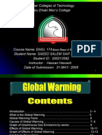 Global Warming Presentation 2009