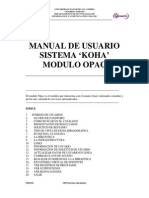 Manual de Opac Koha UMSA