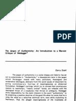 Critica Marxista a Heidegger