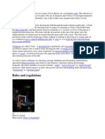 Basketball is a Sport Played by Two Teams of Five Players on a Rectangular Court