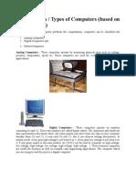 Classification Computer