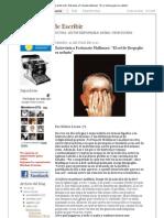 """La Máquina de Escribir_ Entrevista a Fortunato Mallimaci_ """"El rol de Bergoglio es nefasto"""""""