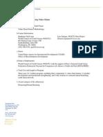 Value Chain Finance Methodology WOCCU Peru