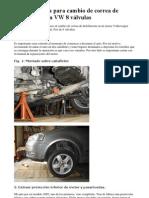 Guia completa para cambio de correa de distribución en VW 8 válvulas