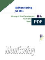 Monitoring & MIS Presentation