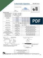 NIC Components NRLMW Series