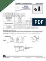 NIC Components NRLMX Series