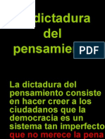 La Dictadura Del to