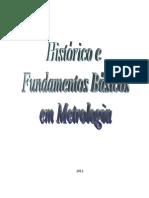 Histórico e Fundamentos de Metrologia