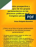 CDG - Gestión estratégica de los Grupos Parlamentarios en el Congreso peruano