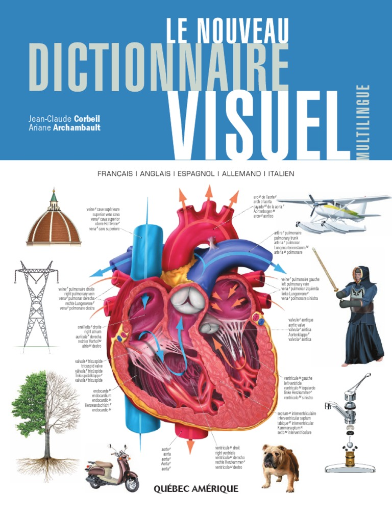eb36c04f65ff8 Le Nouveau Dictionnaire Visuel (Multilingue)
