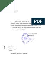 Informe Consejo de Estado Sobre Anteproyecto Aborto 2009