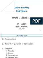 7 Lecture 340 Online Tracking Encryption
