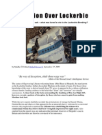 Deception Over Lockerbie - Israel's Hidden Role in the Attack