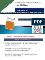 Seccion 3 - Presentacion de Estados Financieros-UES