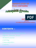 anthraquinone glycosides  (3)