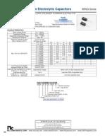 NIC Components NRSG Series