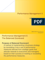 MBAO 6030 Performance Mgmt II Balanced Scorecard