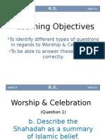 3.Worship & Celebration