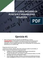 Ejercicio Medias y Variabilidad, Semana 4, Resuelto