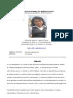 ACTO ADMINISTRATIVO Y ACTO DE ADMINISTRACIÓN-KATHERINE
