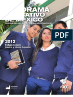 Panorama educativo de México 2012