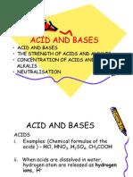79749291 Acid and Bases