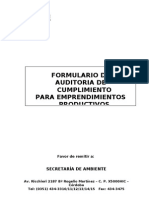 Formul Audit Cumplim Emprend Productivos 2013