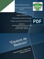 EQUIPOS DE MEDICIÓN