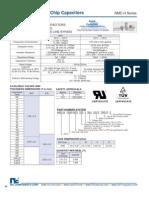 NIC Components NMC-H X2/Y3 Series