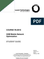 Optimisation OF GSM