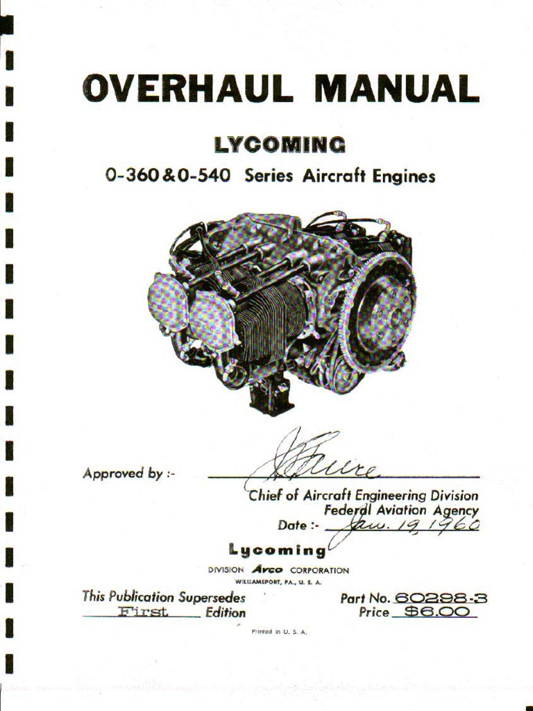 1509291303 lycoming o 360 o 540 overhaul piston engines  at fashall.co