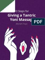Yoni Massage Orgasmic Discourses