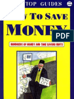 How to Save Money Hundreds of Money and Time Saving Hints