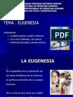 30.- La Eugenesia