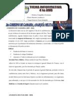 2do GOBIERNO de GAMARRA, La Anarquia Militar