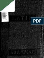Donaldson, James - Elementary Latin Grammar (1872)