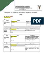 Bancas 2013.1 Auditorio Azul
