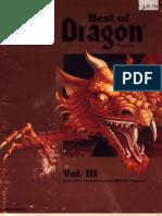 Best of Dragon Magazine - Vol III