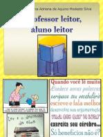 Palestra - Professor Leitor, Aluno Leitor