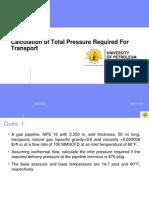 Prttransport(Half ) + Pipe Analysis3,6