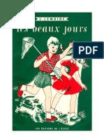Langue Française Lecture Courante CE Les Beaux Jours L.Lemoine