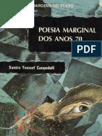 Poesia Marginal Dos Anos 70. Campedelli. 1995